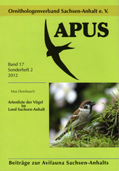 Apus - Band 17 Sonderheft 2/2012